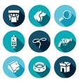 set animal protection icons protest vector image vector image