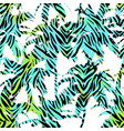 trendy seamless exotic pattern with palm vector image vector image