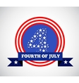 4th july american independence vector image vector image