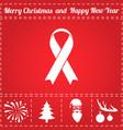 aids icon vector image vector image