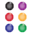 collection multi-colored balls vector image