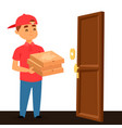 delivery pizza man boy service workers and