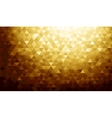 Gold background texture vector image vector image