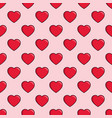 hearts seamless pattern background can be used vector image vector image