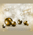 merry christmas elegant vector image