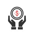 money saving vector image
