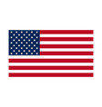 usa flag united states america flag insignia vector image