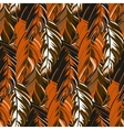 Abstract pattern inspired by tropical birds vector image vector image
