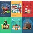 Beer Poster Set vector image vector image