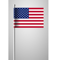 Flag of United States of America American Flag vector image vector image