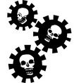 Gear skulls vector | Price: 1 Credit (USD $1)