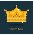 Royal crown for king or princess queen gold tiara vector image vector image