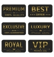 Royal Luxury banners vector image vector image