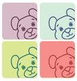tedi bear5 resize vector image vector image