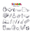 welcome back to school collection 2 vector image