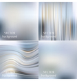 Abstract beautiful colorful blurred wavy smooth vector image vector image