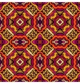 Abstract floral ethnic seamless pattern vector image