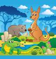 australian animals theme 1 vector image