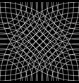 cellular grid mesh pattern with circles from vector image vector image