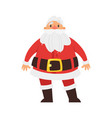 christmas new year santa claus vector image vector image