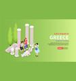 greece travel horizontal banner vector image vector image