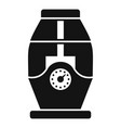 humidifier icon simple style vector image vector image