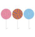 Lollipops vector image