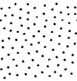Polka Dot Pattern from Brush Strokes vector image vector image