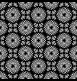 seamless geometry black and white pattern vector image vector image