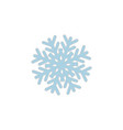 snowflake icon sign vector image