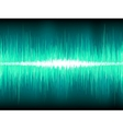 Sound waves oscillating background vector image vector image