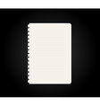 blank paper vector image vector image