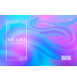 bright abstract background wriggle shape vector image