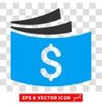 Checkbook Eps Icon vector image vector image