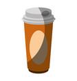 coffee drink icon vector image vector image