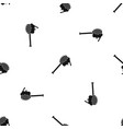 honey spoon pattern seamless black vector image