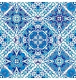 Luxury oriental tile seamless pattern vector image