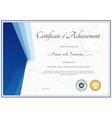 Modern certificate template for achievement