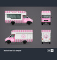mr whippy van design vector image vector image