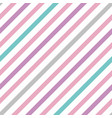 pastel simple seamless pattern with stripes vector image