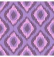 Pink tradition ikat ornament zig zag gradient vector image vector image