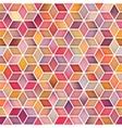 Seamless Multicolor Gradient Cube Shape vector image