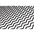 abstract diagonal black chevron wave or wavy vector image vector image