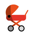 baby stroller icon image vector image vector image