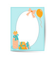 birthday card design in a4 size circle frame