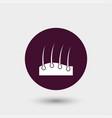 hair icon simple barbershop vector image