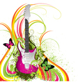 musical composition vector image