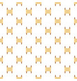 rolled open brown papyrus pattern seamless vector image
