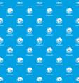 sunburst chart pattern seamless blue vector image vector image