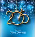 2015 Christmas Greeting Card for New Year Flyers vector image vector image